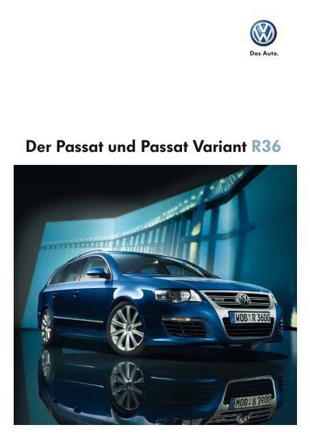 Der Passat und Passat Variant R36 - Autohaus Perski ohg