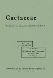 Cactaceae - Au Cactus Francophone