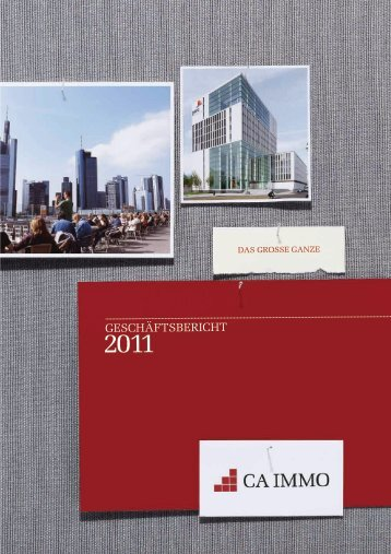 Geschäftsbericht 2011 - CA Immo