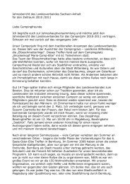 Jahresbericht des Landesverbandes Sachsen-Anhalt für den ...