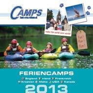 Feriencamps Katalog 2013 - Camps International