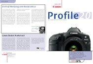 Ein Profi-Werkzeug ohne Kompromisse Canon fördert ProPortrait