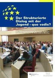 Der Strukturierte Dialog mit der Jugend - Centrum für angewandte ...