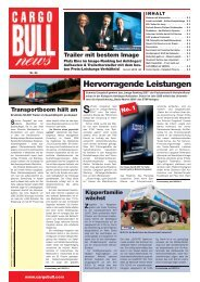 Hervorragende Leistungen - Schmitz Cargobull AG