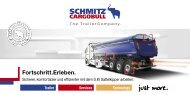 Sattelkipper-Innovationen - Schmitz Cargobull AG