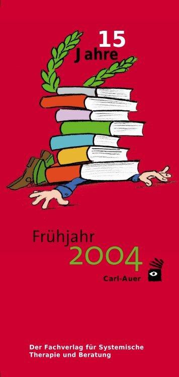 Frühjahr - Carl-Auer Verlag