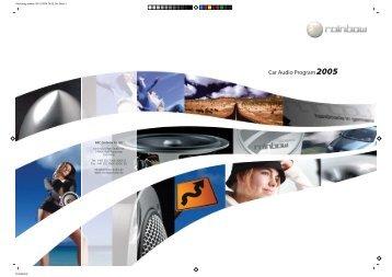Car Audio Program