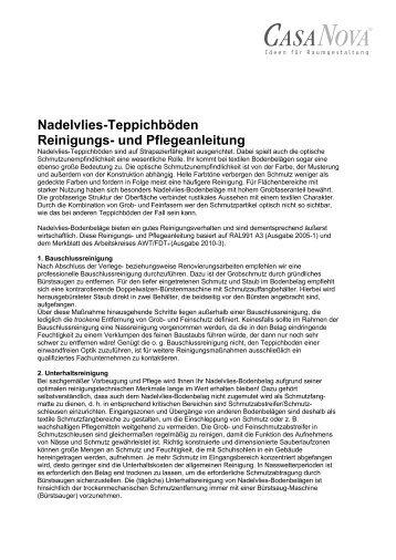 PDF-Download - CASA NOVA