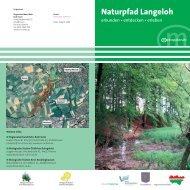Naturpfad Langeloh - Stadt Castrop-Rauxel