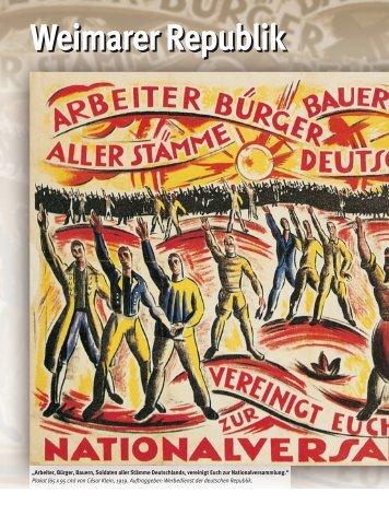 Weimarer Republik - C.C. Buchner