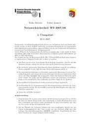 Netzwerksicherheit WS 2007/08