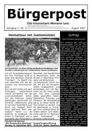 pdf 438kB; August 2007 - CDU Kreisverband Weimarer Land
