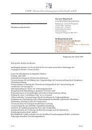CDW Steuerberatungsgesellschaft mbH