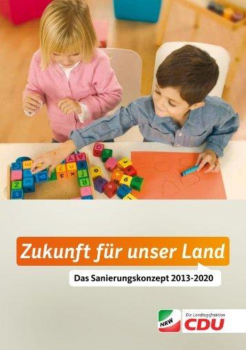 Sanierungskonzept - CDU Landtagsfraktion NRW