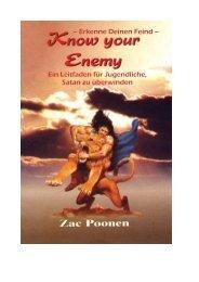 Erkenne Deinen Feind - Christian Fellowship Centre