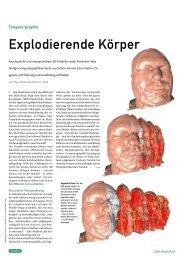 Explodierende Körper - Institut für Computergraphik und Algorithmen