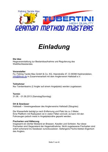 German Method Master Hallstadt - beim Champions Team