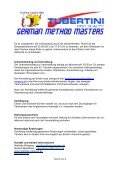 German Method Master Hallstadt - beim Champions Team - Page 4