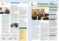 Newsletter Chance 50plus Ausgabe 6/2013 - Chance50.de