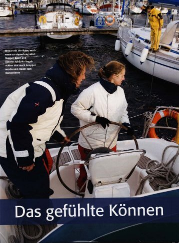 Skippertraining - 1.Klasse Yachten
