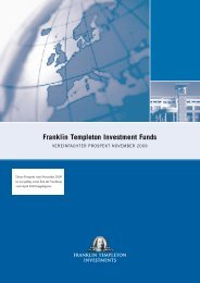 Franklin Templeton Investment Funds - Chartmix