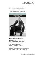 Leseprobe - C.H. Beck