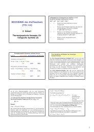 1 BIOCHEMIE des Stoffwechsels (772.113)