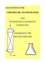 CHEMISCHE TECHNOLOGIE - Fachbereich Chemie