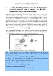 """4 Theorie """"Zentrifugationstechniken zur Reinigung von ..."""