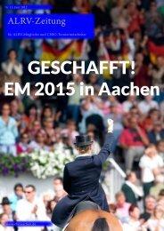 ALRV-Zeitung Ausg. 15 (Juni 2012) - CHIO Aachen