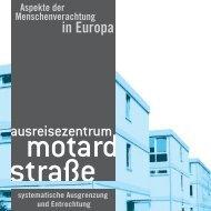 Ausreisezentrum Motardstraße - Initiative gegen das ...