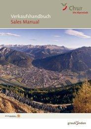 Verkaufshandbuch Sales Manual - Chur Tourismus