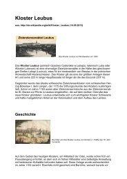 Kloster Leubus - Cistopedia.org