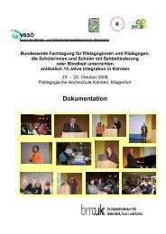 Dokumentation Fortbildungstage 2008 - cisOnline