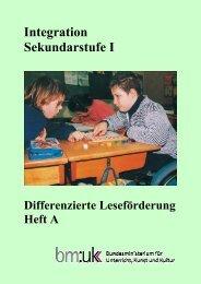 Differenzierte Leseförderung Heft A - cisOnline