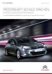 finden Sie mehr Details zu den Lösungen für Fahrschulen. - Citroën