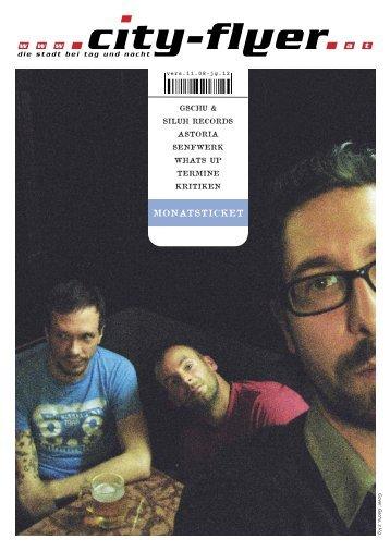 Download pdf-Ausgabe 11/08 - City-Flyer