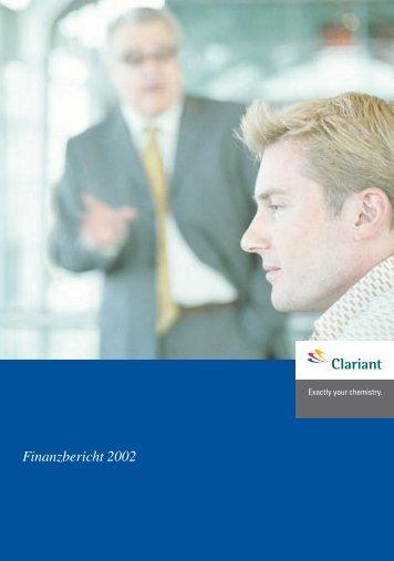 Finanzbericht 2002 - Clariant