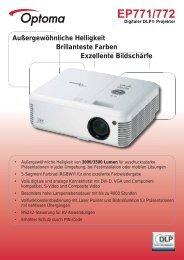 EP771/772 - Digitaler DLP® Projektor