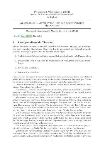 Zusammenfassung - Claus Beisbart