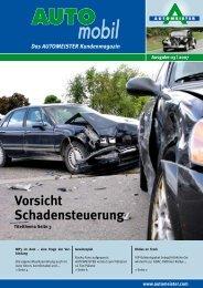 Vorsicht Schadensteuerung - AUTOMEISTER