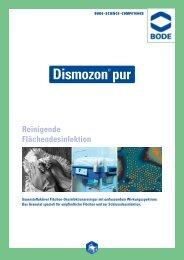 Bode Dismozon pur STERIL 130 x 20 g - Cleanscout.de