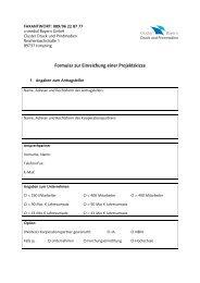 Formular zur Einreichung einer Projektskizze - Cluster Druck und ...