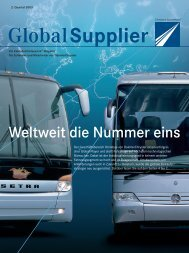 Download Global Supplier Magazin [Ausgabe 02/2003] - Daimler