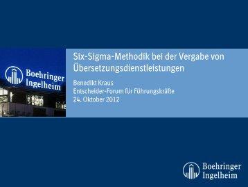Six-Sigma-Methodik bei der Vergabe von ... - tekom