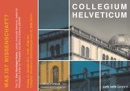 Abstract - Collegium Helveticum - ETH Zürich