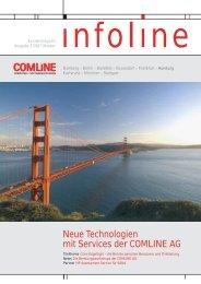 Neue Technologien mit Services der COMLINE AG