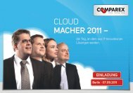 CLOUD MACHER 2011 – - COMPAREX