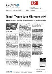 DämitTraum kein Albtraum wird - Comparis.ch