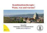 Neue Perspektiven in der Kombinationstherapie - congress-info.ch ...